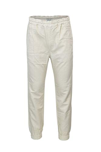Jeckerson Uomo 26pcjupa33xt05721beige Pantaloni Lino Beige 1wxrHqnW15