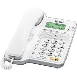 - AT&T CL2909 Corded Speakerphone with caller ID/call waiting, White