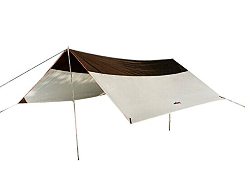 Geertop 5 8 persons waterproof rain fly sun shelter tent for Canape sun fly