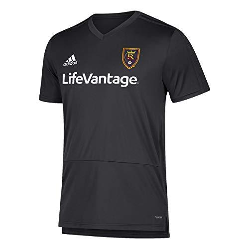 adidas Real Salt Lake MLS Men's Black Climacool 2018 Training Jersey (L)