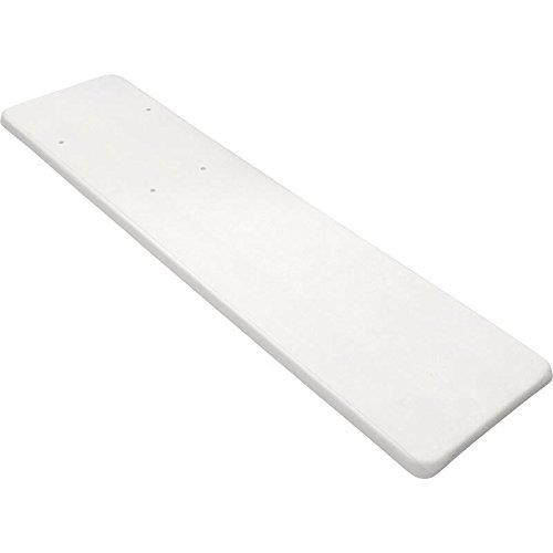 Inter-Fab DB8WW Diving Board Replacement for In-Ground Pools, Duro-Beam, White