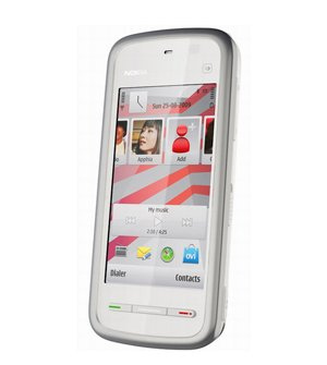 Nokia Nuron 5230 Quadband GSM Camera Touchscreen SymbianOS Cell Phone White T-Mobile
