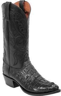 Hornback Caiman Cowboy Boots - Lucchese 2000 Men's Cowboy Boots Caiman Hornback Big Tail T3185.J4