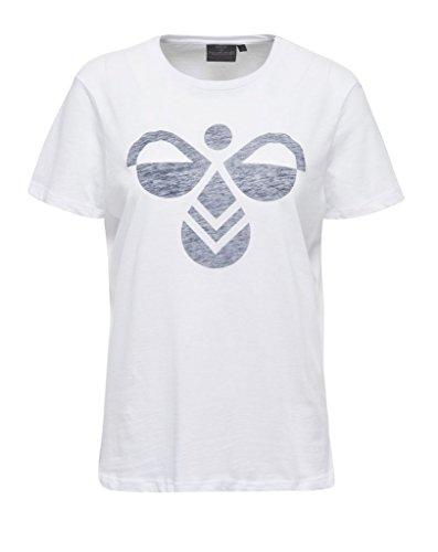 Hummel Classic Bee Fauna SS Tee–Camiseta blanco
