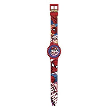 KIDS LICENSING Reloj digital Spiderman Marvel: Amazon.es: Juguetes y juegos