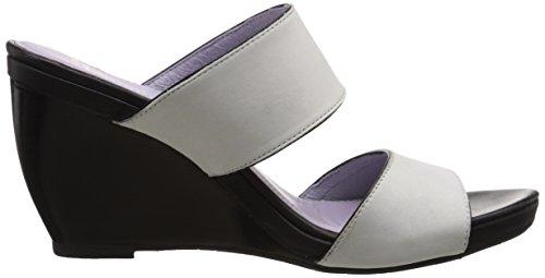 Johnston & Murphy Women's Nisha Wedge Slide Sandal Off White mnUViwnk