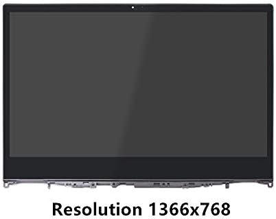 FTDLCD® 14 Inch para Lenovo Yoga 530-14 TN Panel LCD Pantalla Táctil Digitalizador Asamblea+Marco NT140WHM-N43 V8.0 1366x768: Amazon.es: Electrónica