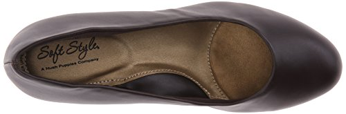 Leather Shoes Gail Puppies Women's Hush Brown Dark qaB7pBnf