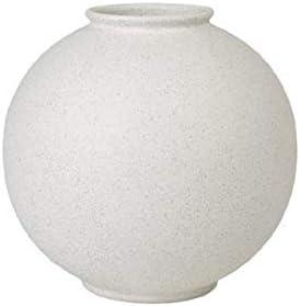 Blomus RUDEA Vase Ceramic 12 x 12 Lily White