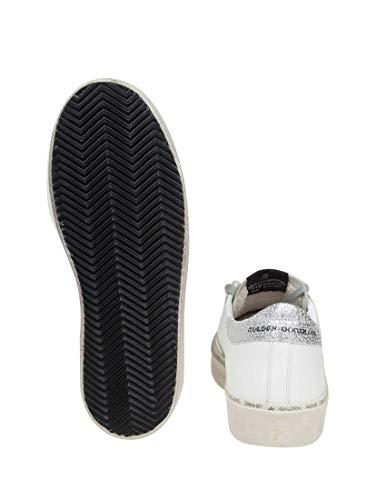 Mujer Zapatillas Blanco Goose Cuero G34ws945b8 Golden TqExCE
