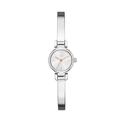 DKNY Women's 'Ellington' Quartz Stainless Steel Casual Watch, Color:Silver-Toned (Model: NY2627)