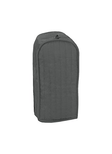 RITZ Polyester / Cotton Quilted Blender Appliance Cover, Dust and Fingerprint Protection, Machine Washable, Graphite Grey - Quilted Blender Appliance Cover