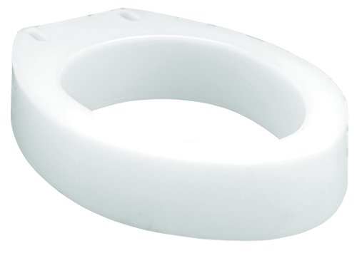Raised Toilet Seat Elongated by Bath Care