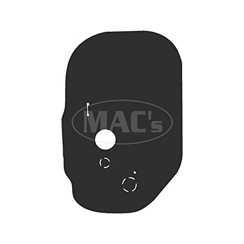 - MACs Auto Parts 58-29678 Steering Column Floor Seal - Edsel Ranger & Villager & Bermuda & Pacer