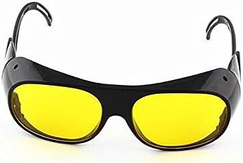 Nadalan Amarillo Gafas de Soldadura Gafas de Trabajo Gafas de protección láser