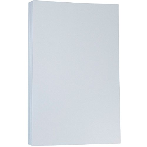 Blue 50 Sheet Pack - JAM Paper Matte Legal Cardstock - 8.5