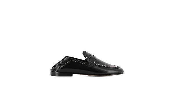 ISABEL MARANT - Mocasines de Otra Piel para Mujer Negro Negro, Color Negro, Talla 39: Amazon.es: Zapatos y complementos