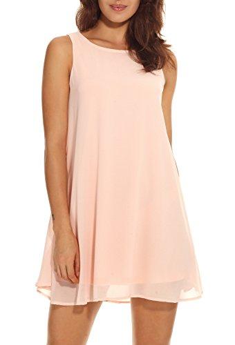 PrinStory Womens Summer Chiffon Sleeveless product image