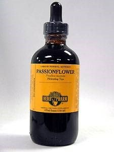 Passionflower Extract, 4 Oz by Herb Pharm (Pack of 2)
