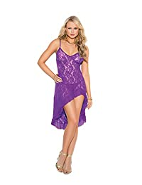 Elegant Moments Women's Stretch Lace Gown