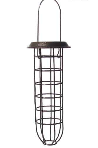 Wildlife Sciences Suet Plus Ball Feeder with Roof, Mesh ()