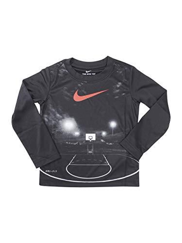 Nike Little Boy's Dri-FIT Friday Night Lights Long Sleeve T-Shirt Sz: 4 Black