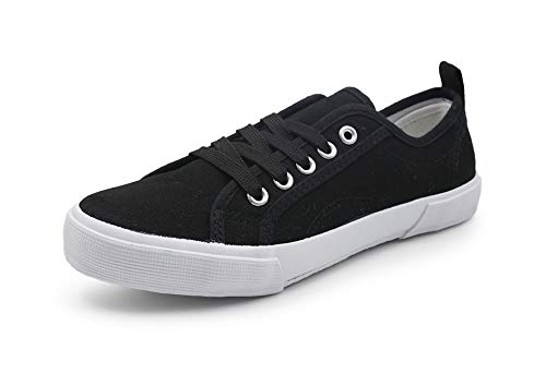 Low Top Women Sneakers Tennis Canvas Shoes Casual Shoes for Women Flats