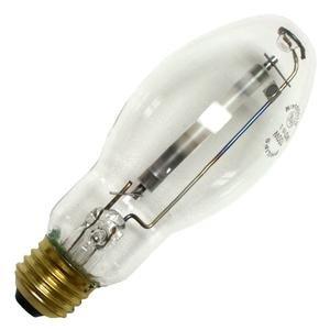 Philips Lighting 344465 BD17 High Pressure Sodium Lamp 100 Watt E26 Medium Base 8550 Lumens 21 CRI 2100K Ceramalux Non-Alto (Bd17 Medium Base)
