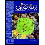 Focus on Grammar : A High-Intermediate Course for Reference and Practice, Fuchs, Marjorie and Bonner, Margaret, 0130327492