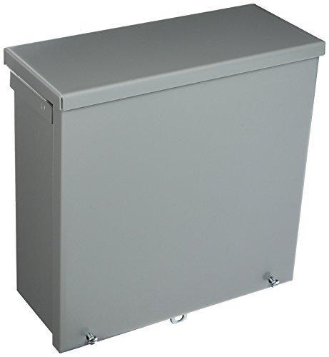 Hoffman A10R104 NEMA 3R Enclosure, Screw Cover, Galvanized, Paint Finish, 10'' x 10'' x 4''