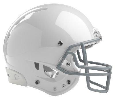 Rawlings Adult Impulse Football Helmet, White, Medium