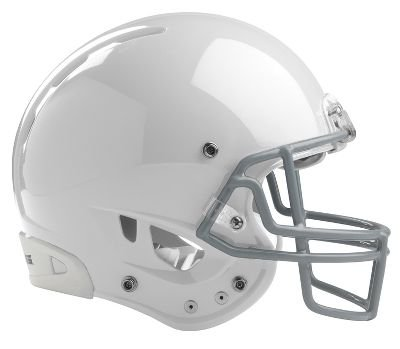 Rawlings Quantum Adult Football Helmet- White-L Quantum Football