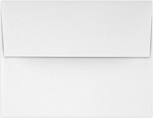 A4 Invitation Envelopes (4 1/4 x 6 1/4) - White - 100% Recycled (500 Qty.) | Perfect for Invitations, Announcements, Sending Cards, 4x6 Photos | 4872-WPC-500