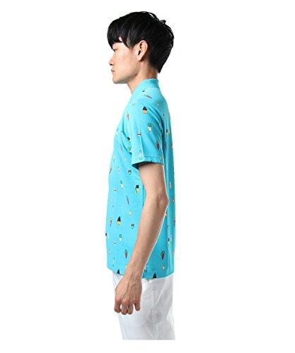 マンシングウェア ゴルフウェア ポロシャツ 半袖 DCSクーリング MGMLJA22 WH00 L