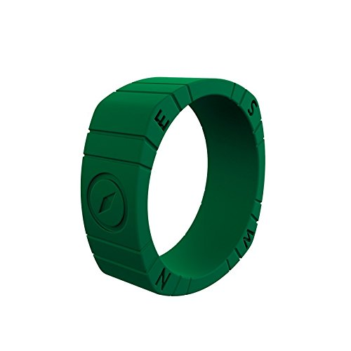 Qalo Men's Functional Silicone Wedding Rings, Outdoors Collection