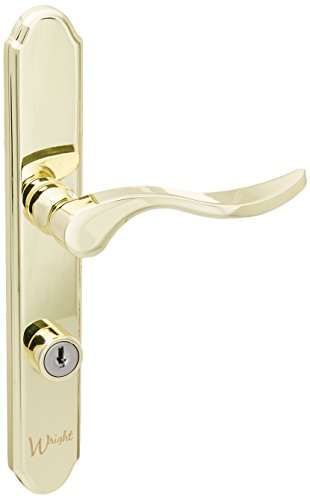 2. Wright Products VMT115PB SERENADE Style MORTISE SET, BRASS