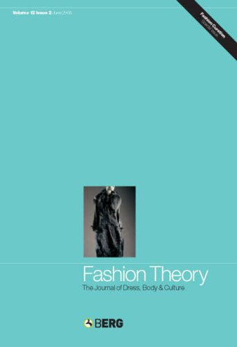 Download Fashion Theory Volume 12 Issue 2: The Journal of Dress, Body and Culture pdf epub