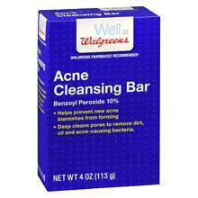 Walgreens Acne Cleansing Bar4 oz 3 pack