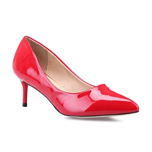 Vestir Zapatos Modeuse La Rojo De 50647 Mujer Sintético EpIfxwdfTq