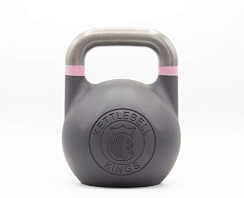 Kettlebell Kings Kettlebell Weights Competition Kettlebell Weight Sets for Women Men Built in American Style Same Size Dimension Across All Weights
