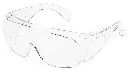 Gateway Clear Safety Glasses, Frameless, Wraparound