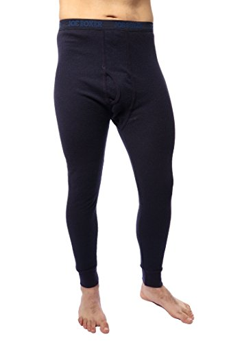 Joe Boxer Mens Thermal Bottoms (X-Large, Dark Blue) (Boxer Thermal Underwear compare prices)