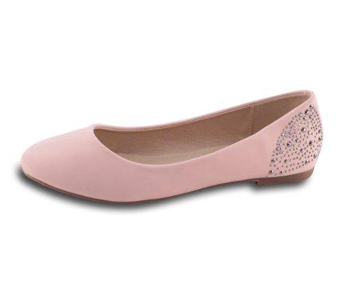 Mixmatch24 - Bailarinas para mujer rosa - rosa