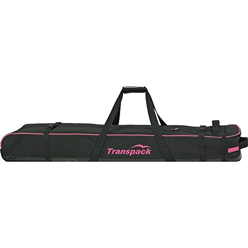 Classic Series Ski Vault Double Pro Bag Color: Black w/ Pink Electric