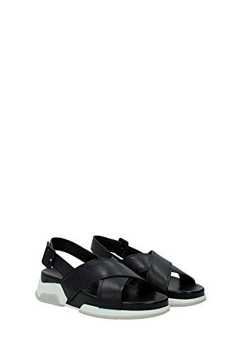 Sandalias Prada Mujer - (3X5970NEROBIANCO) EU Negro