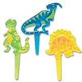 Dinosaurs Cupcake Picks - Set of 3