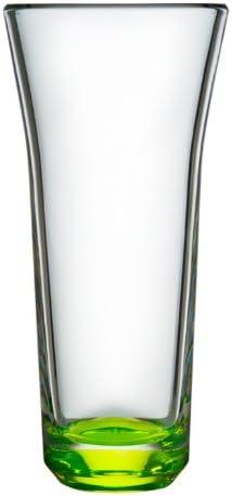 ORREFORS CRYSTAL KARIM RASHID TRE Vase lime