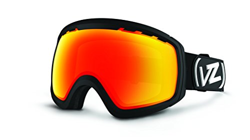 VonZipper Feenom N.L.S. Goggles, Black Satin/Fire Chrome
