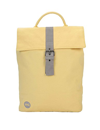 Mi-Pac Women's Day Pack Canvas Backpack In Yellow Yellow by Mi-Pac