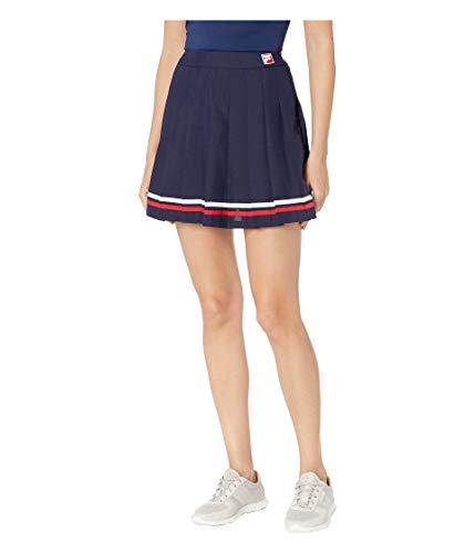 - Fila Women's Palma Pleated Tennis Skirt Peacoat/White/Chinese Red X-Large
